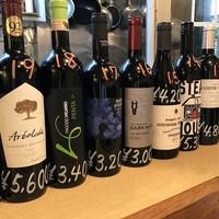 チャイニーズ ビストロ HAJIME - おいしいワインを取り揃えてます!