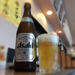 65273081 - 《瓶ビール,中》500円                       2016/4