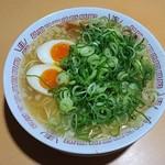 65274752 - 煮卵 中華そば 並(1玉) (ストレート麺・硬め・タレ濃いめ・葱多め・こってり) 650円