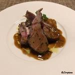 ビストロ スケガワ - 仔羊のロースト ローズマリーとタイムのソース