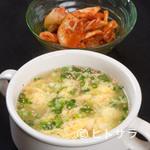 焼肉専科いで - たまごスープ