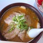 つけ麺大王赤羽店 - 味噌チャーシュー麺