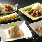 寿司割烹 魚徳 - おつまみ、一品料理も手作り。低価格で