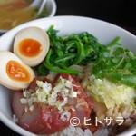 中国家常菜 燕郷房 - 前菜メニューの大人気をご飯に乗せたランチ『ダブルのせごはん』