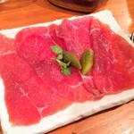神戸三宮肉寿司 - 牛肉の生ハム