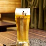 鳥吉 - 生ビール