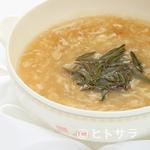 中国料理 桃華樓 - 本日のふかひれスープ