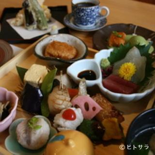 旬の食材を使った本格和食をご堪能ください!