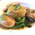 ル ポエト ラヴァル - 牡蠣のソテとフラン