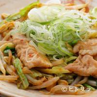 酒蔵 力 - バクダン(テッポウ入り辛味噌炒め)