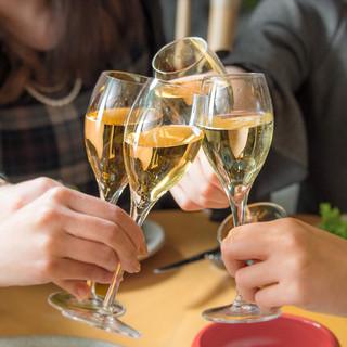 オーガニックビール、ワイン、日本酒もお楽しみくださいませ