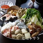 かとう - 秘伝唐味噌☆甘辛鍋