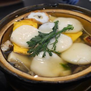 姫松屋 - 料理写真:具雑煮?