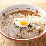 尚屋 - あったか和風だしで召し上がる温麺を食べられるのは当店だけ。