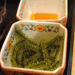 あんのん - 料理写真:海ブドウ