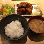 CHICKEN CREW - 唐揚げ定食900円