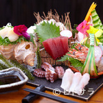 寿司 ゆずの花 - 刺身盛り合わせ