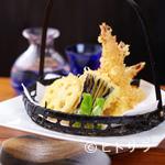 寿司 ゆずの花 - 天ぷら盛合せ