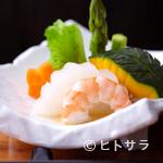 寿司 ゆずの花 - 季節を味わえる、旬野菜の煮物 680円