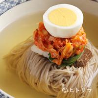 三林精肉店 - 自家製冷麺もイチオシです。