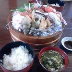 吉川鮮魚店 - 刺身2人前(2000円×2人前)