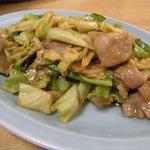 中華料理 大勝軒 - 肉野菜味噌炒め¥580-