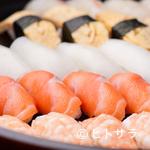 びっくり - コース料理に必ずついてくる、職人の技が光る『握り寿司』