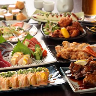 九州創作和食×たっぷり飲み放題付コースが2980円~OK!
