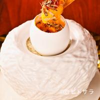 ビストロ ダイア - 『愛知県豊田市佐久間養鶏場濃厚卵と北海道音更町発酵バターを ゆっくり火を通した