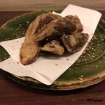 おが咲 - 牛蒡の天ぷら