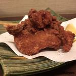 おが咲 - 地鶏の唐揚げ