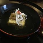 花浅葱 - 料理写真:たけのこのしんじょ  いいです。