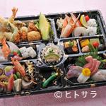 佳羅守 すし半 - 法事に最適な会席料理や弁当のご用意が可能です。