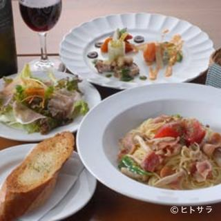 種類も豊富♪本格イタリアンとワインでパーティはいかが?