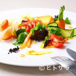オッキオ デル ティフォーネ - 農家さんのお野菜をサラダ仕立てに 1000円