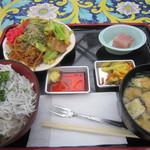 花の下のレストラン - 花鳥園定食