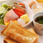 平家の茶屋 - モーニング(パン) 500円