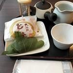 源宗園 - 本日の緑茶セット¥510