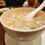 菜香園 - 海鮮入りとろみスープ