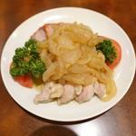 菜香園 - 三色冷菜盛り合わせ 表