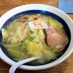 8番らーめん - 野菜塩ラーメン567円