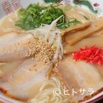 天徳 - 白そば(とんこつ)