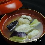 みよし - 評判の逸品『はもと賀茂茄子新生姜煮』