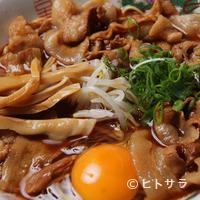天徳 - 徳島ラーメン(肉入り大)