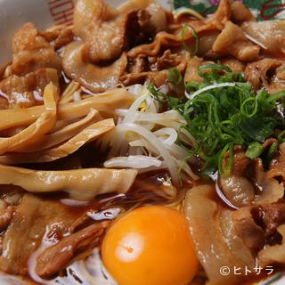 徳島ラーメン(肉入り大)