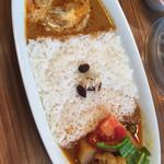 カリーアップ - バターチキン&野菜のコンビ(S)