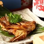 菊春 - 鯛の兜煮