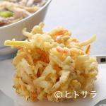 手打うどん 寿庵 - 野菜かき揚げ