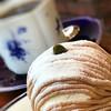 鴫立亭 - 料理写真:ブレンドとモンブラン