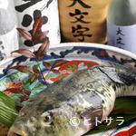 大文字 - 一年中新鮮なふぐが食べられます。